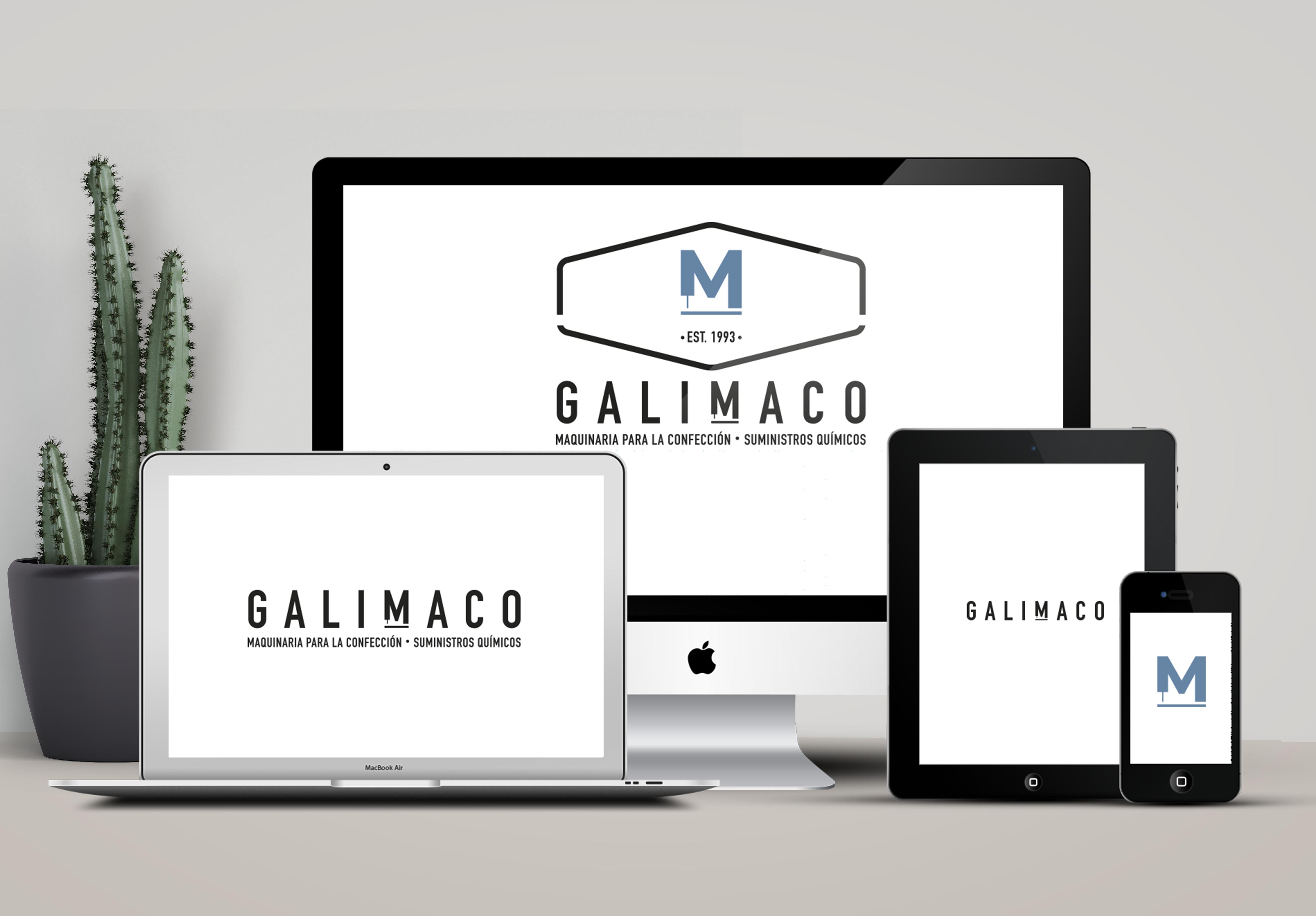responsive logo galimaco
