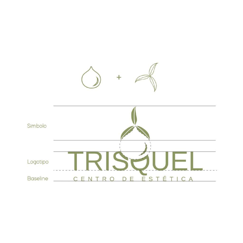 explicacion branding trisquel centro de estetica