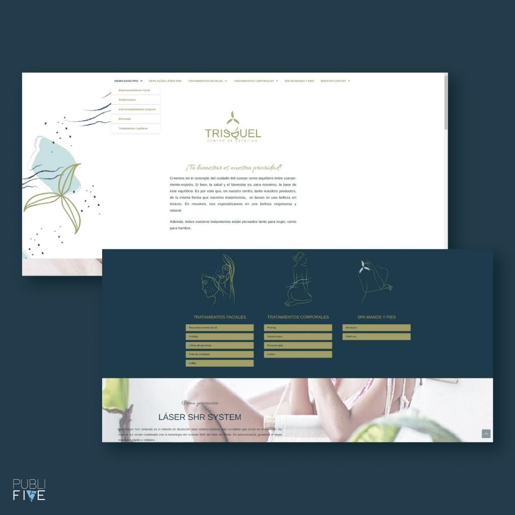 diseño web trisquel