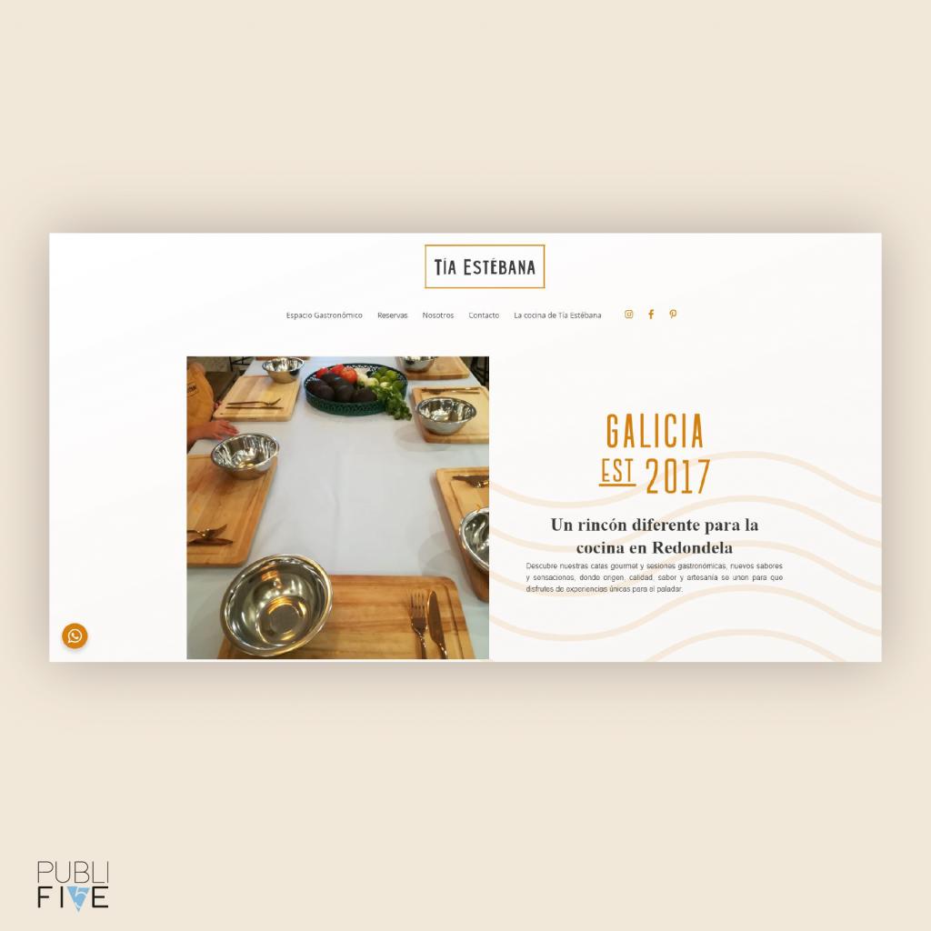 diseño web con reservas